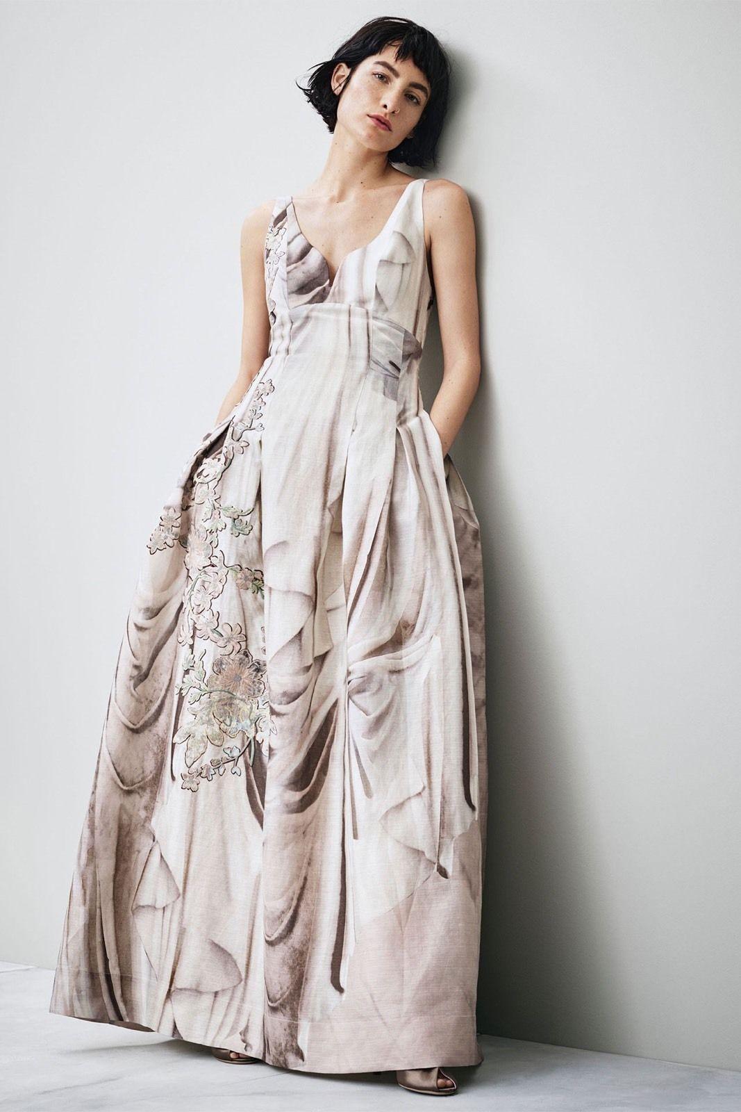 Dokonalé spoločenské svadobné boho šaty Hodváb+ľan - Obrázok č. 3