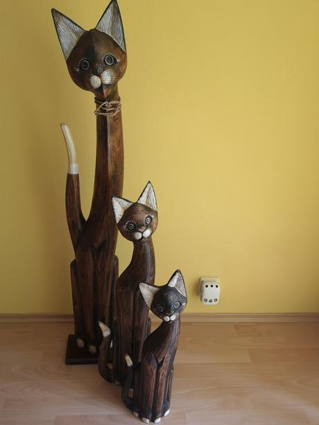 Drevené mačky - Obrázok č. 1