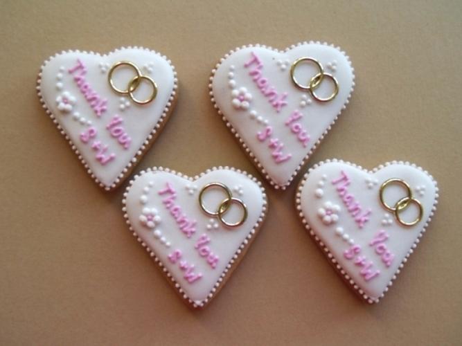 Svadobné perníčky s prstienkami - Obrázok č. 5