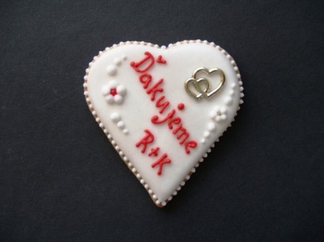 Svadobné perníčky s prstienkami - Obrázok č. 6