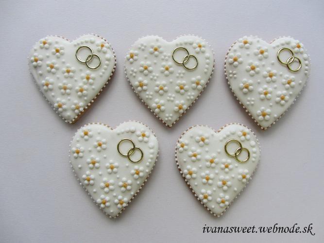 Svadobné perníčky s prstienkami - Obrázok č. 4