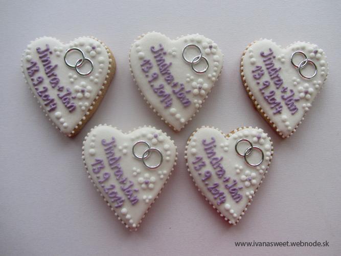 Svadobné perníčky s prstienkami - Obrázok č. 19