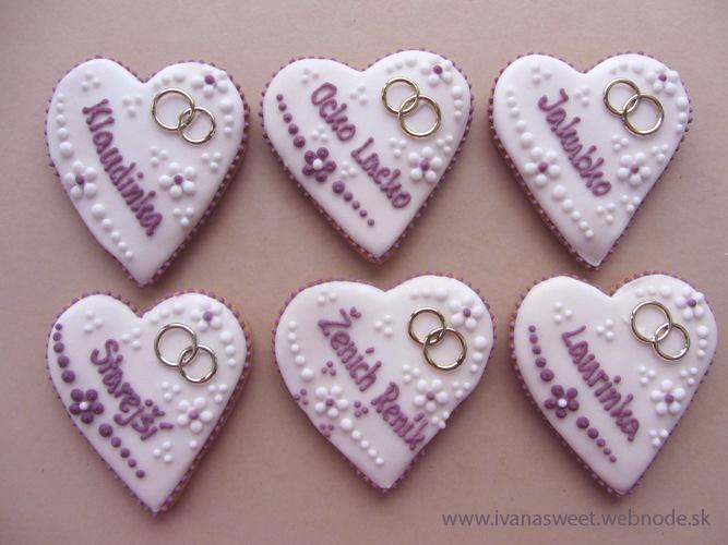 Svadobné perníčky s prstienkami - Obrázok č. 20