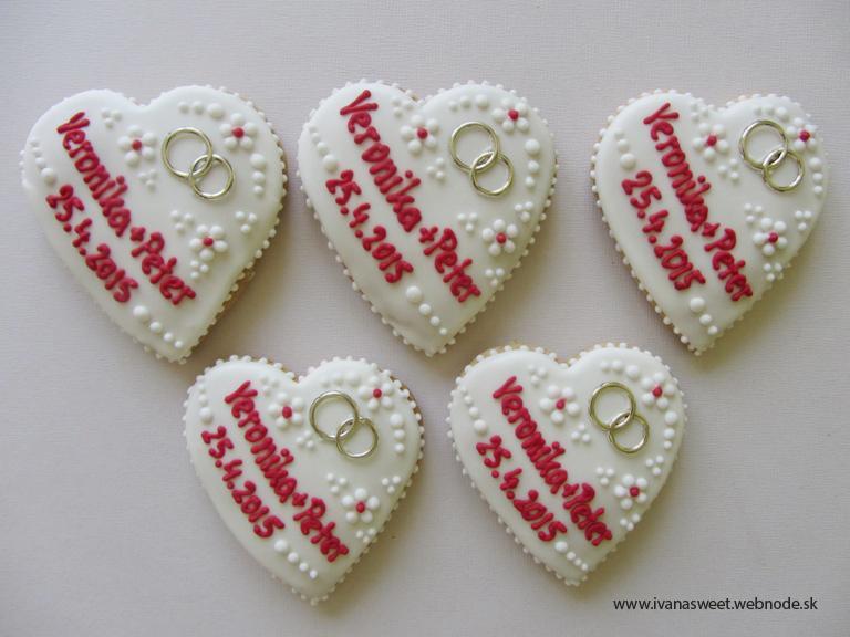 Svadobné perníčky s prstienkami - Obrázok č. 30