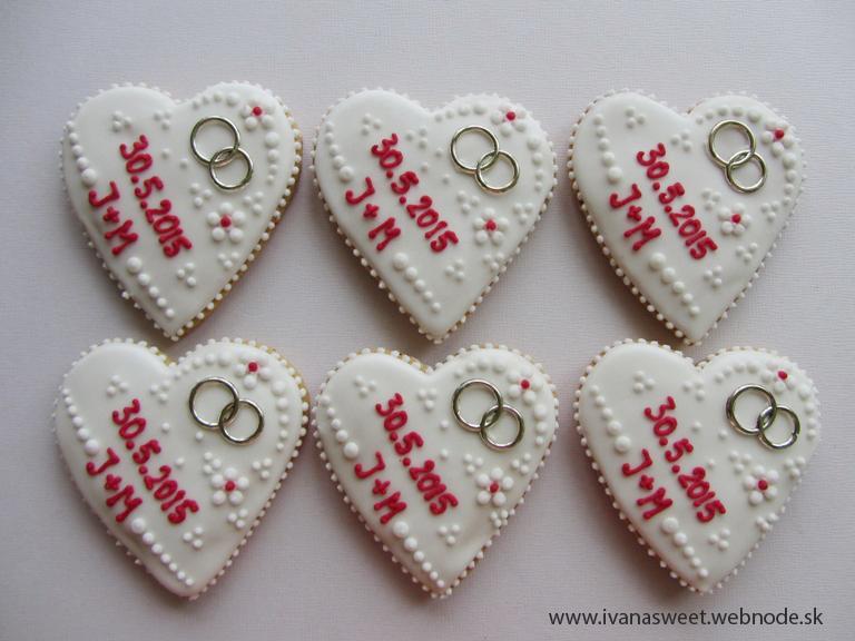 Svadobné perníčky s prstienkami - Obrázok č. 38