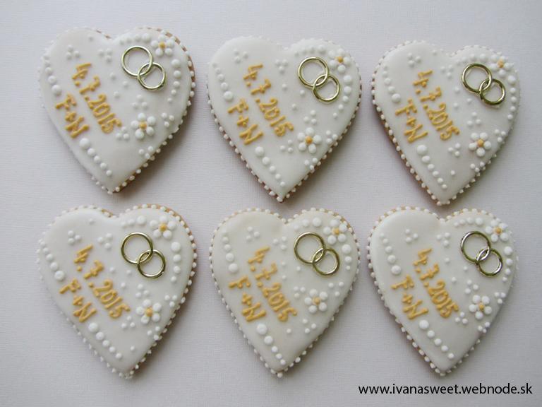 Svadobné perníčky s prstienkami - Obrázok č. 45
