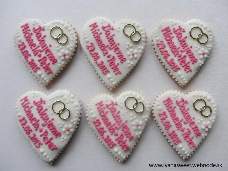 Svadobné perníčky s prstienkami - Obrázok č. 46