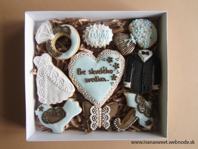 Budeš moja družička?? + iné svadobné kazety :) - Pre mňa veľmi vzácna objednávka: Medovníčky pre Magaelu :)