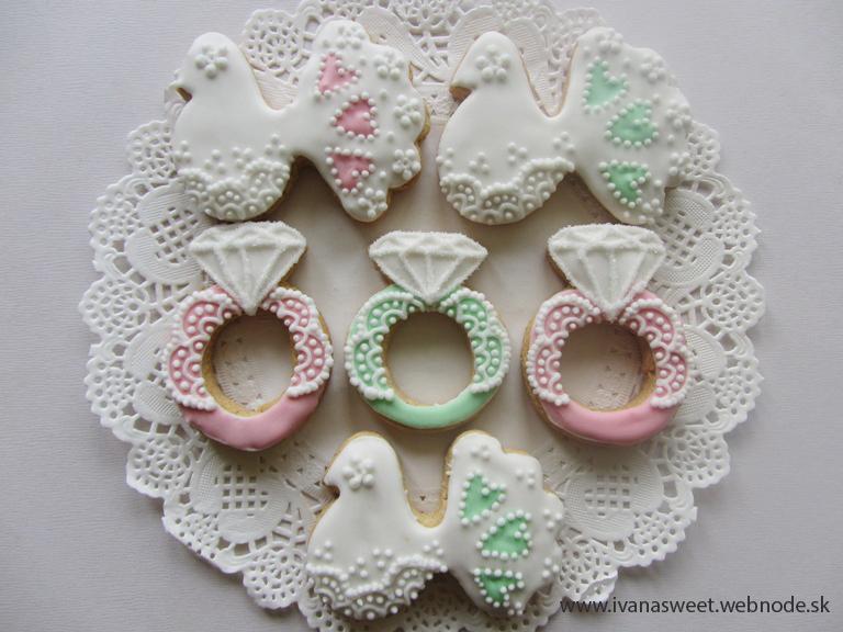 Medovníčky na candy bar - Obrázok č. 168