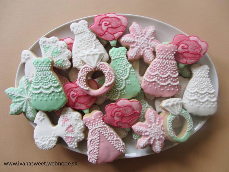Medovníčky na candy bar - Obrázok č. 170