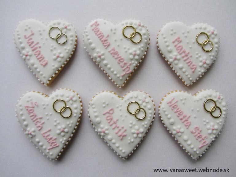 Svadobné perníčky s prstienkami - Obrázok č. 54
