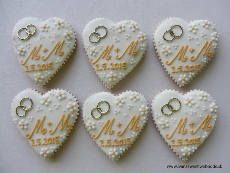 Svadobné perníčky s prstienkami - Obrázok č. 57