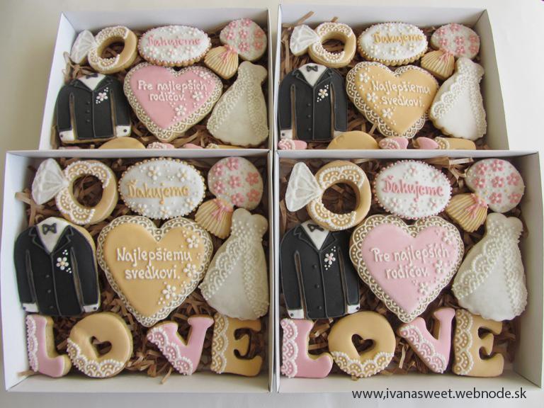 Budeš moja družička?? + iné svadobné kazety :) - Medovníčkové kazety pre rodičov a svedkov :)