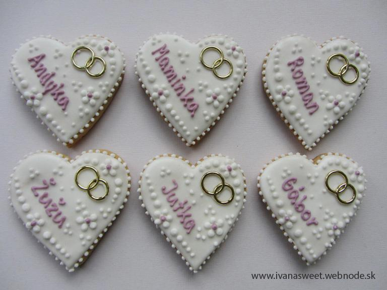Svadobné perníčky s prstienkami - Obrázok č. 58