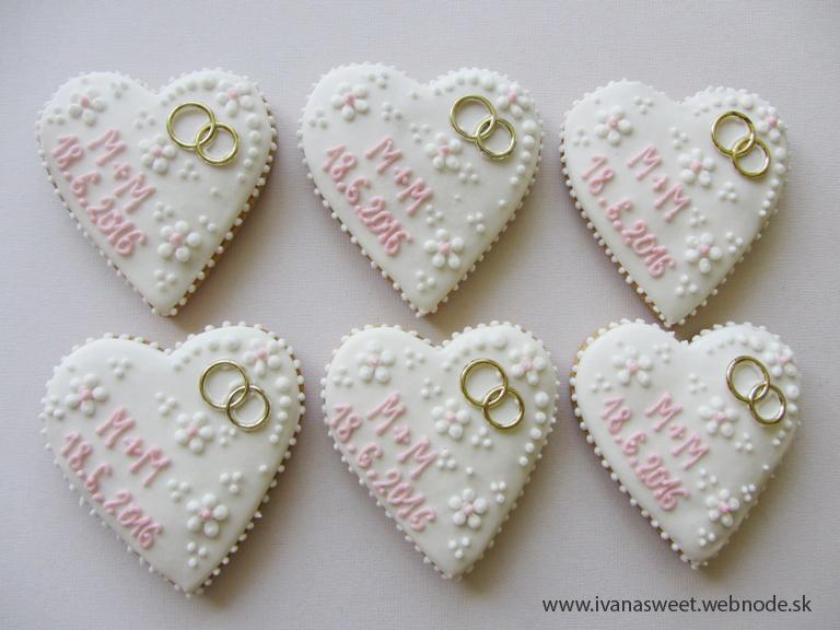Svadobné perníčky s prstienkami - Obrázok č. 60