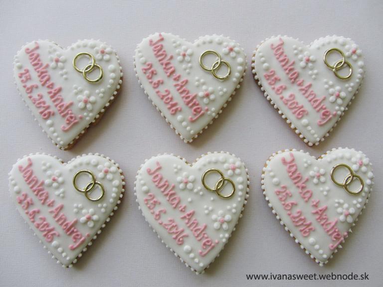 Svadobné perníčky s prstienkami - Obrázok č. 62