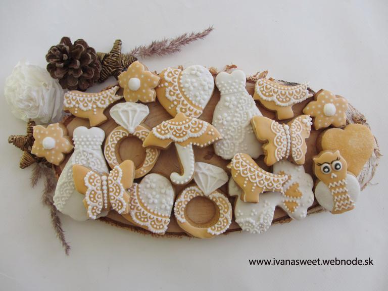 Medovníčky na candy bar - Obrázok č. 225