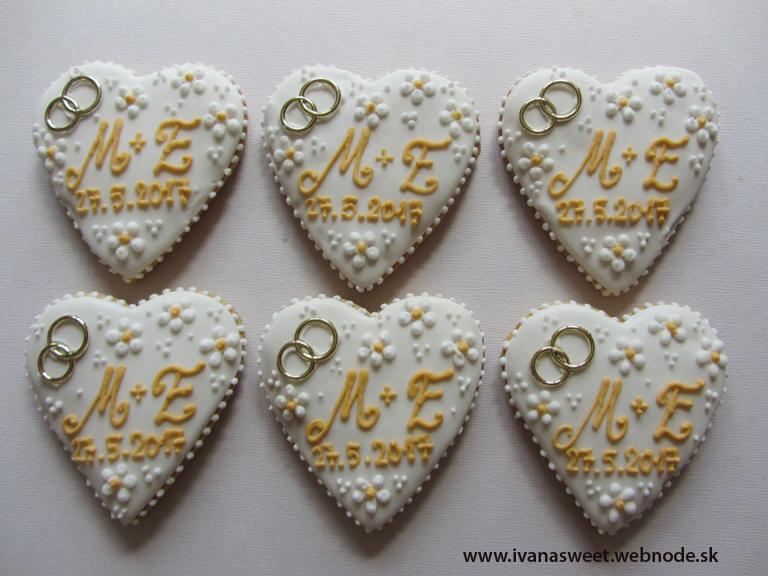 Svadobné perníčky s prstienkami - Obrázok č. 80