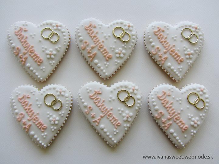Svadobné perníčky s prstienkami - Obrázok č. 91