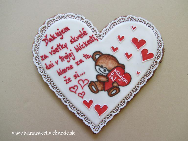 Zaľúbené medovníčky - Obrázok č. 3
