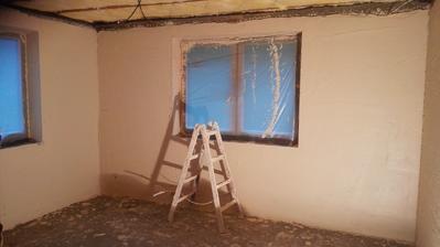 konečne hladké steny :)