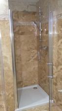 sprcha hotová :)