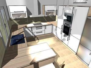 pôvodný návrh kuchyne :)