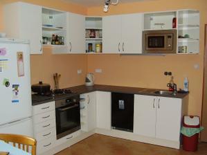 konečně nová kuchyně :) už chybí jen obložit...