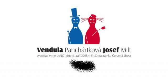 Přípravy - Vendula a Pepa 6.9.2008 - Obrázek č. 3