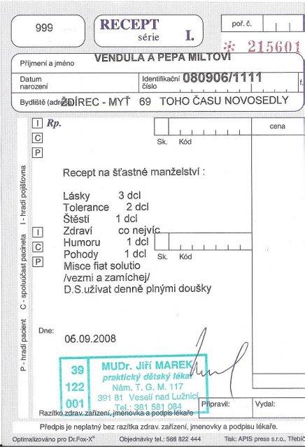 Přípravy - Vendula a Pepa 6.9.2008 - Obrázek č. 64
