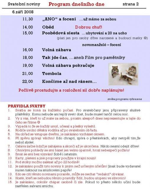 Svatební noviny - Obrázek č. 2