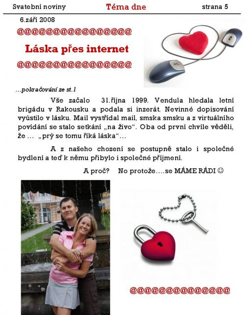 Svatební noviny - Obrázek č. 5