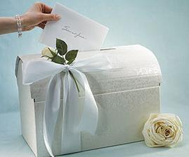 schránka na svadobnú poštu...pekné :-)