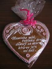 děkovný dort pro rodiče 4