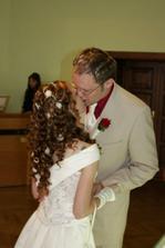 první manželský polibek :o)