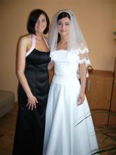 s kamaratkou Zuzkou