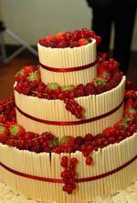 svatební dortík bude určitě ovocný