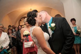 První novomanželská...;)