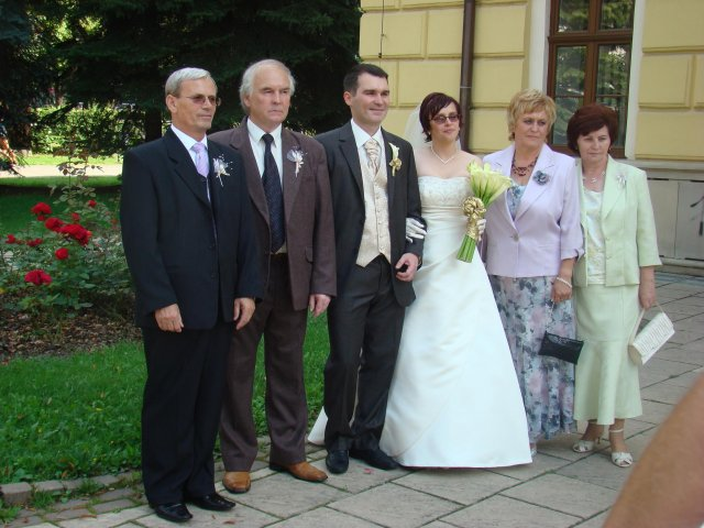 Vladimira Sertlova{{_AND_}}Marian Kosik - s rodicmi