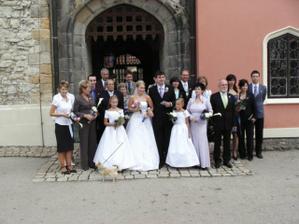 všichni hosté až na Tomáše, ketrý nám toto vše fotil, děkujeme :)