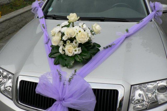 Vyzdoby svadobných  áut - Obrázok č. 78