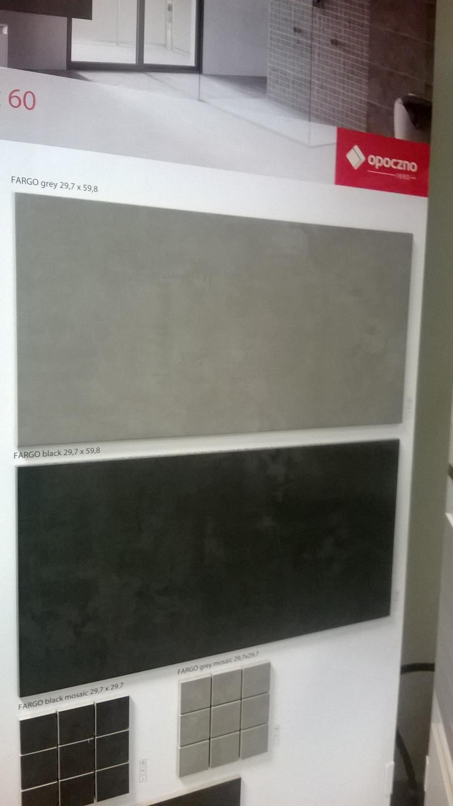 Kompletní rekonstrukce bytu 3+1 - vizualizace, vybrané zařízení a plány - Obklad do koupelny - světle šedá