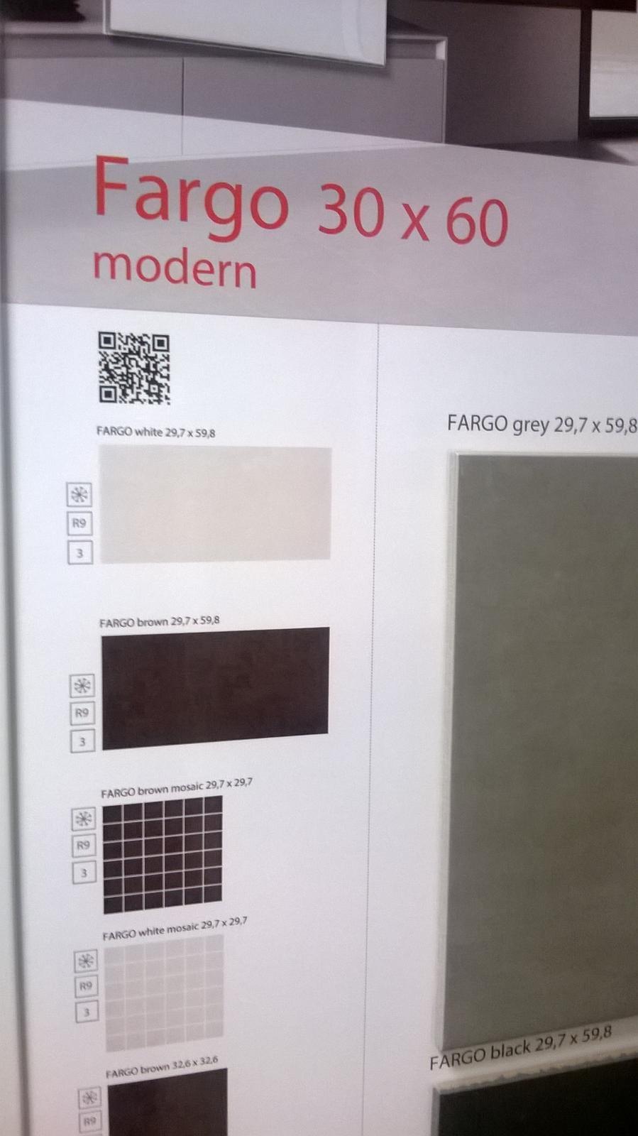 Kompletní rekonstrukce bytu 3+1 - vizualizace, vybrané zařízení a plány - Obklad do koupelny - bílá