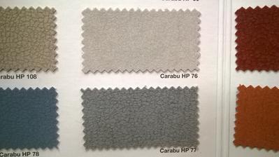 Potah sedačky carabu - volba mezi odstíny 76 a 77