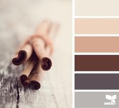 Pravděpodobné barevné ladění ložnice 1