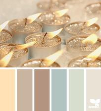 Pravděpodobné barevné ladění ložnice 3