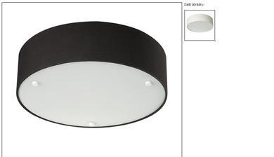 Doplňková světla do obýváku a kuchyně, celkem 4 černá a 3 bílá