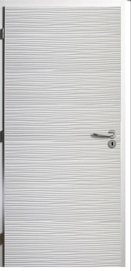 Kompletní rekonstrukce bytu 3+1 - vizualizace, vybrané zařízení a plány - Bílé interiérové lakované dveře CAG