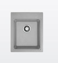 Kompletní rekonstrukce bytu 3+1 - vizualizace, vybrané zařízení a plány - Dřez Franke - šedý kámen