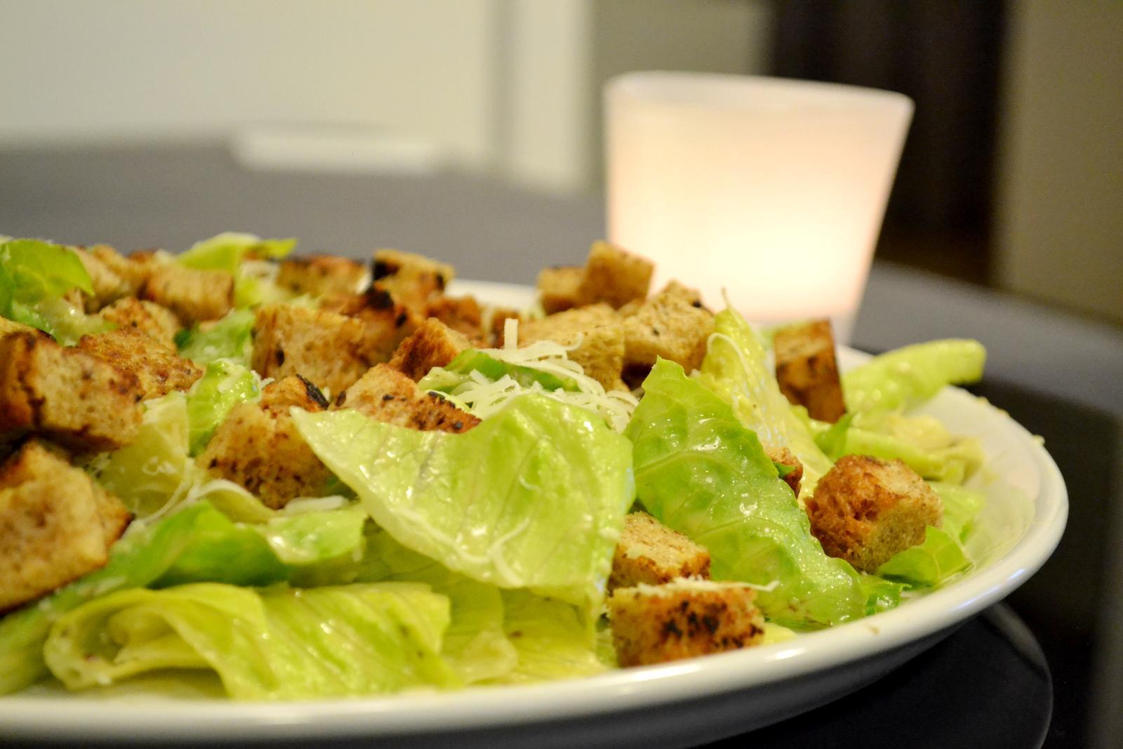 Upečeno a uvařeno u nás doma - Caesar salát